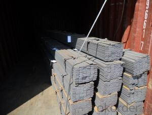 Q235, A36, SS400 Hot Rolled Steel Flats Bar