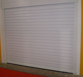 Steel Sectional Garage Door with Good Quality