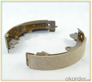 Brake shoe of truck brake brake linings  OEM