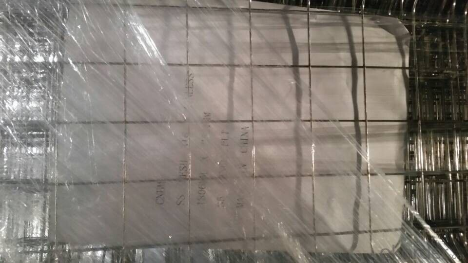 316L Stainless Steel Wire Mesh Panel Hot Sale and High Quality