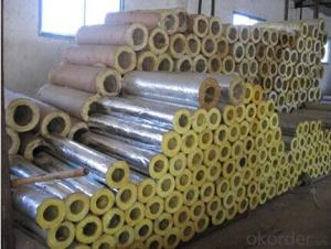 Rock Wool with Aluminum Foil Steel Pipe Jacket
