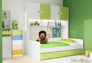 Hot Selling Children Wooden Bunk Bed with Night Stands WB17