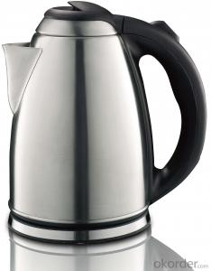 2.0 Litre Stainless Steel Electric Kettle with Boil-dry and overheat protection