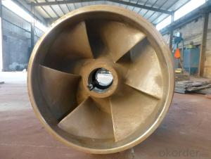 Stainless Steel Impeller Castting Forging and Machining Wt.from 2Kg to 290Kg
