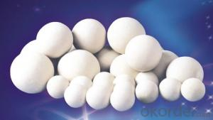 Alumina Grinding Ball higher hardness and density