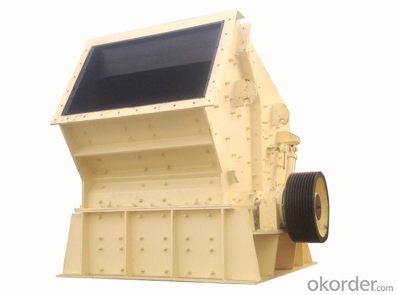 Zhongmei brand PC1210 Hammer Crusher for mining site