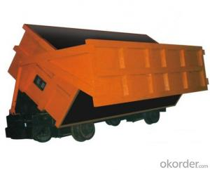 Zhongmei brand Drop Side Mine Cars used for underground mining site