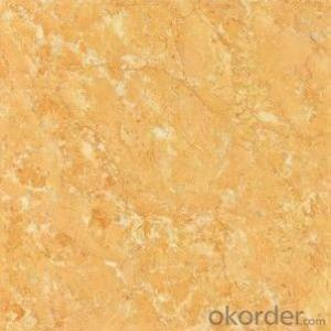Polished Porcelain Tile The Yellow Color CMAX 0329