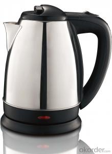 110~130V 1.8 Litre Stainless Steel Electric Kettle with Boil-dry and overheat protection