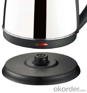 1.7 Litre Stainless Steel Electric Kettle with Boil-dry and overheat protection