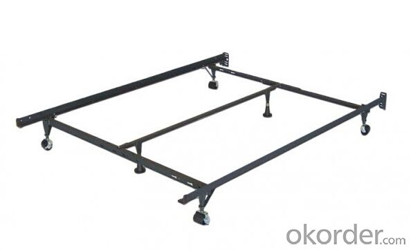 Hot Sale T/F T/F/Q Q/K Metal Bed Frame AJMBF01