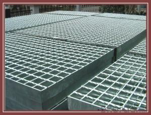 A255/40/100 Aluminum Bar Grating For Deck Access Stair Tread