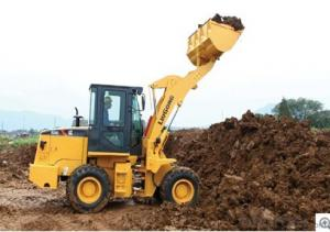 The highest quality wheel loader CLG820C