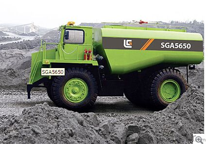 Mining truck SGA5650,Spacious, comfortable cabin space