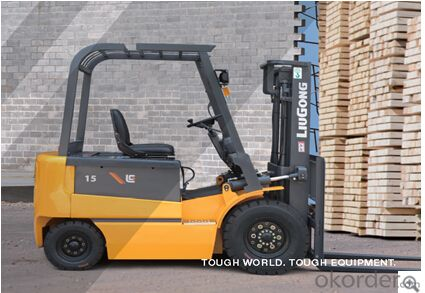 FORKLIFT CPD15,Operator Safety and Comfort