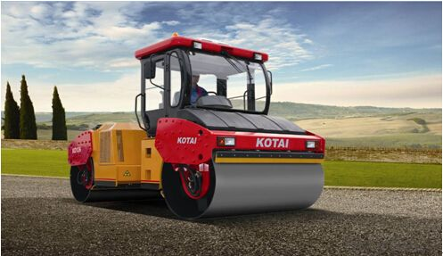 KD126/KD126F fully hydraulic double drum vibratory roller