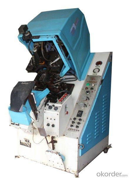 728DA Computer control auto-cement Toe Lasting Machine