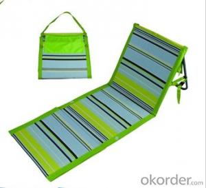 Hot Selling Folding Beach Mat with Backrest BB02