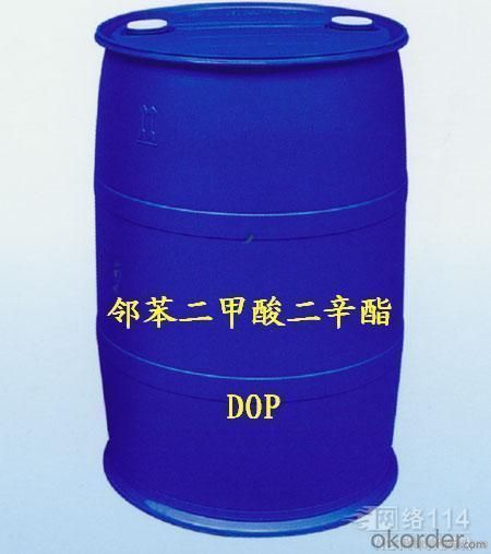 C24H38O4 Industrial Chemical Dioctyl Phthalate 99.5% DOP For PVC Pipe Industry