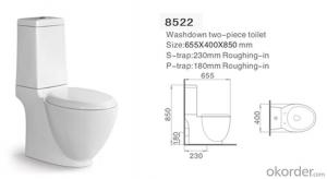 Two piece toilet wc toilet,ceramic toilet cheap sale-8522