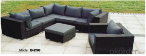 Garden Sofa Furniture Rattan Outdoor Furniture   B-256