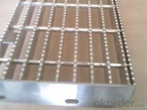 Aluminum Grating Floor Stair Tread CNBM High Quality