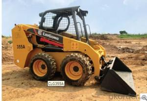 Skid ateer loader CLG355A,Operator Comfort and Safety
