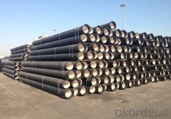 DUCTILE IRON PIPE AND PIPE FITTINGS K8 CLASS DN150