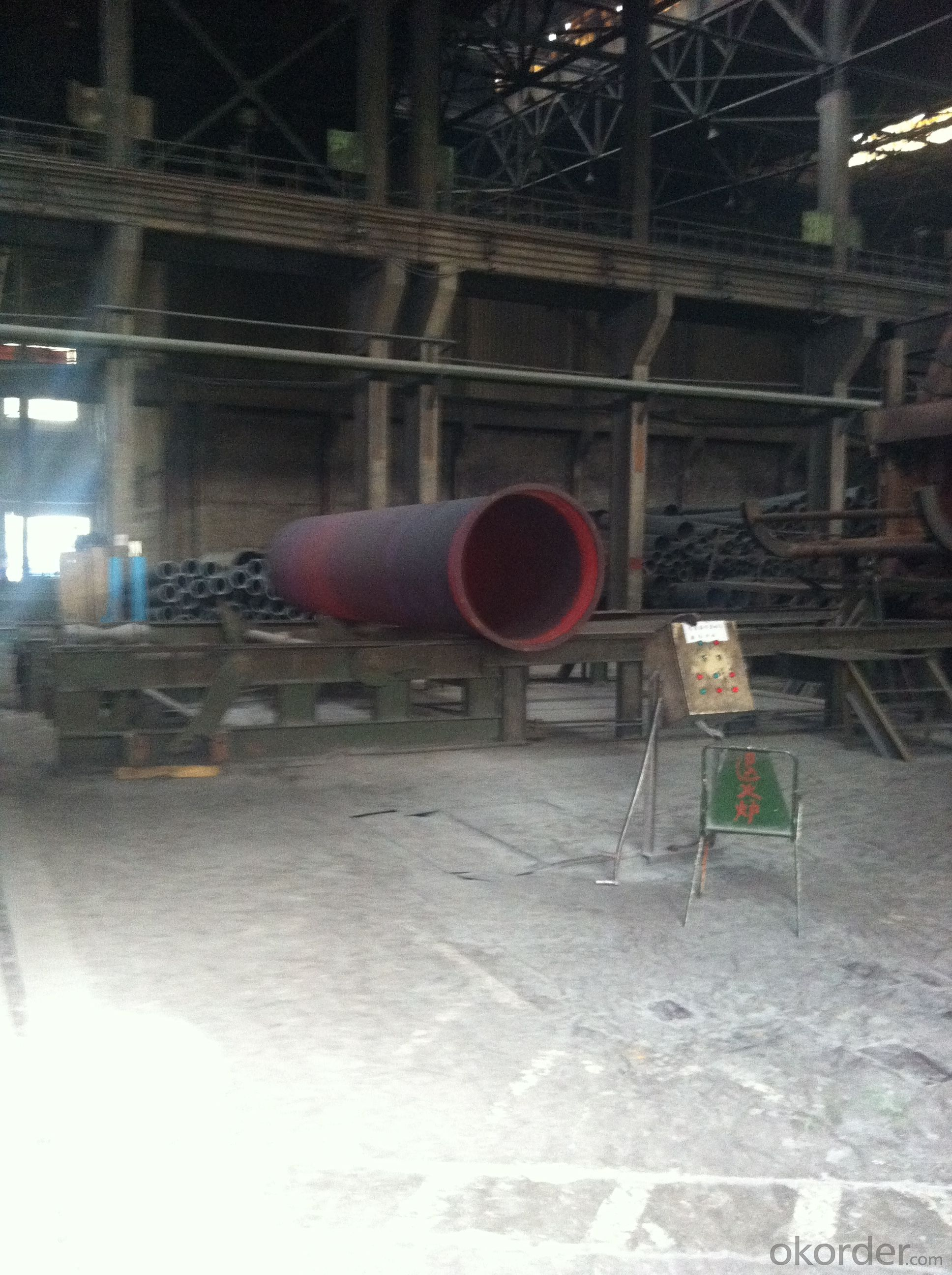 DUCTILE IRON PIPE AND PIPE FITTINGS K9 CLASS DN500