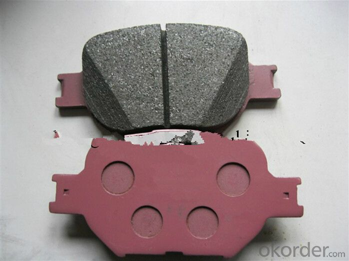 Auto Brake Pads for Toyota Hiace 04465-25040 D1344-8455