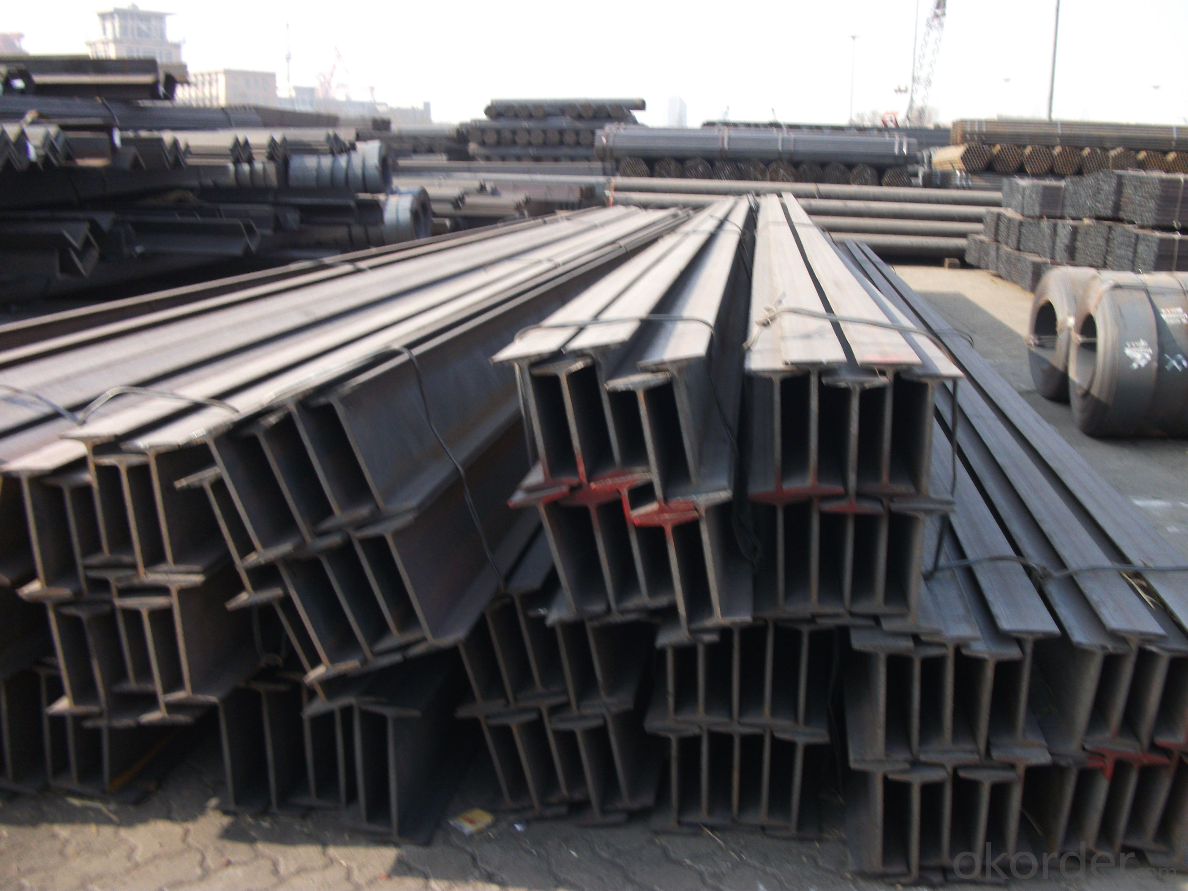 Hot rolled I beams/Ibeams GB standard/JIS standard