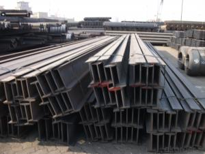 Alloyed Hot rolled I beams/Ibeams GB standard/JIS standard
