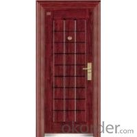 Metal Steel Security Door for Safety Design Use