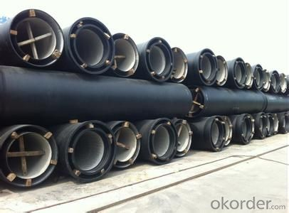 DUCTILE IRON PIPE AND PIPE FITTINGS K9 CLASS DN80