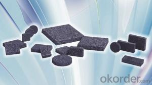 Silicon Carbide Foam Filter series good quality