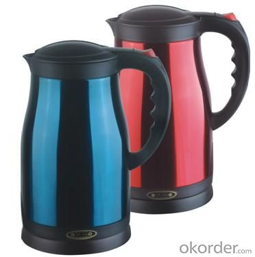 Hot ! 2.0 Litre Double Layers both food grade plastic and 201# S.S. Electric Kettle