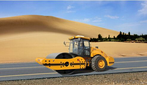 KS262D fully hydraulic single drum vibratory roller