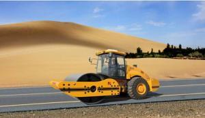 KS262D fully hydraulic single drum vibratory roller
