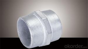 Malleable Iron Pipe Fitting Hot Dipped Galvanized Made in China