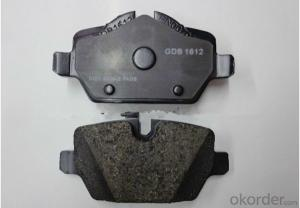 Auto Brake Pads for BMW E90/E81/E87 Mini (34216767145 D1226-8345)