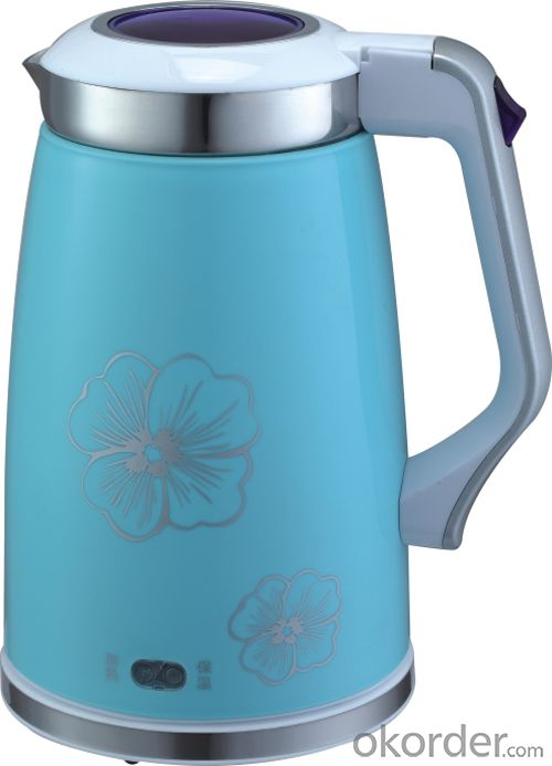 New ! 2.0 Litre Double Layers both food grade plastic and 201# S.S. Electric Kettle