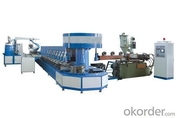902 Computer control auto-cement Toe Lasting Machine