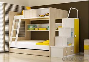 Hot Selling Children Wooden Bed with Night Stands WB11