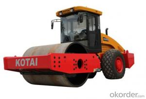 KS255S fully hydraulic single drum vibratory roller