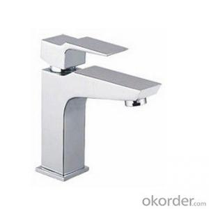 Fashionable basin faucet with single handle- 417