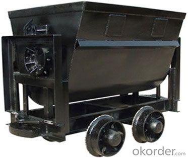 Zhongmei brand 600mm Gauge Bucket Tipping Mine Car