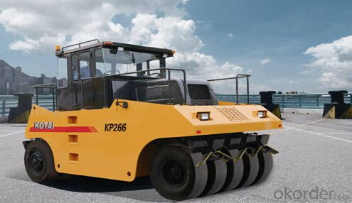 KP266 fully hydraulic tyre roller with best price