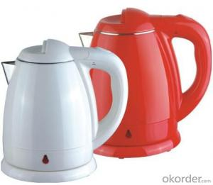 1.5 Litre Double Layers both food grade plastic and 201# S.S. Electric Kettle