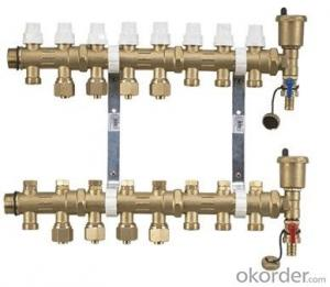 Water return Value and water distributer  For Floor Heating  System