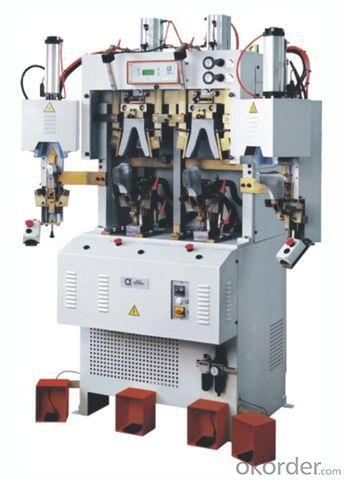 839 (MA) Computer control auto-cement Toe Lasting Machine